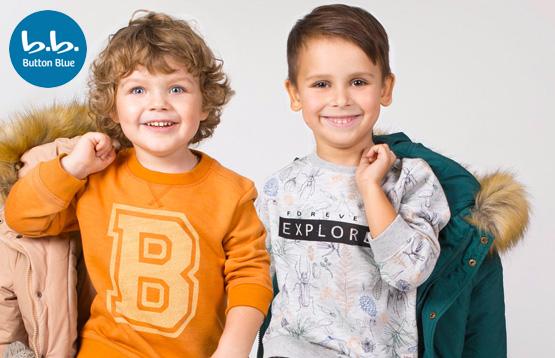 Button Blue. Одежда для детей от 3 до 13 лет