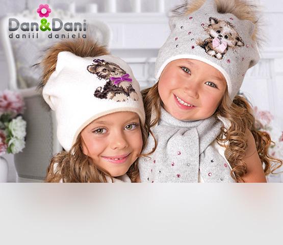 Dan&Dani. Детские головные уборы