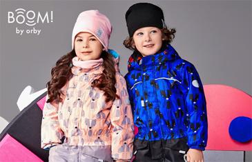 Boom! By Orby. Осенняя коллекция верхней одежды для детей 0-12 лет