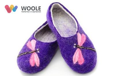 Woole. Войлочные тапочки и валенки