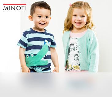 Minoti. Новинки моды из Англии для детей от 1 до 3 лет