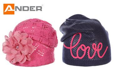 Ander. Весенняя колекция шапок польского производства
