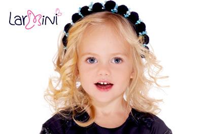 Larmini. Детские аксессуары для волос и головные уборы
