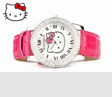 Hello Kitty. Лицензионные часы в подарочной упаковке
