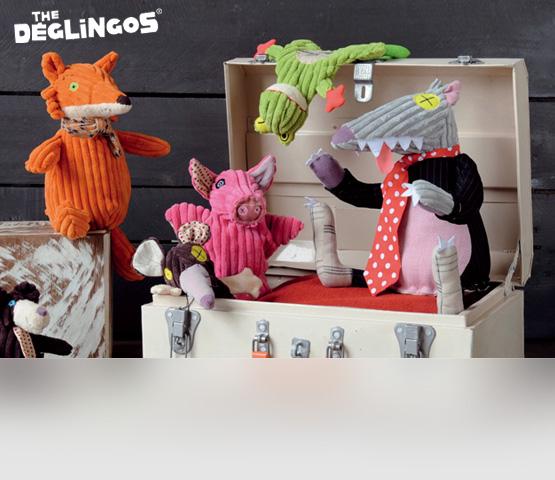 Deglingos. Мягкие игрушки и аксессуары из Франции