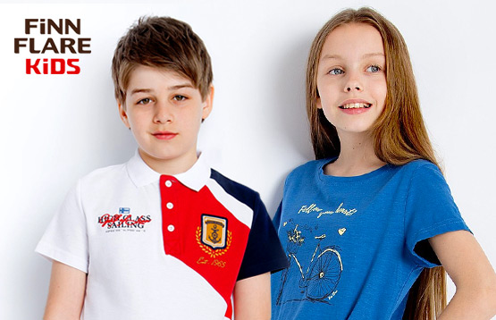 Finn Flare Kids. Распродажа детской одежды на лето и зиму