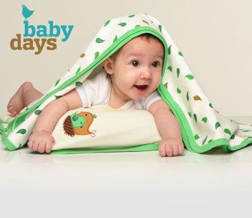 BabyDays. Одежда и постельные принадлежности для малышей