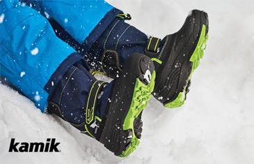 Kamik. Распродажа зимней детской обуви