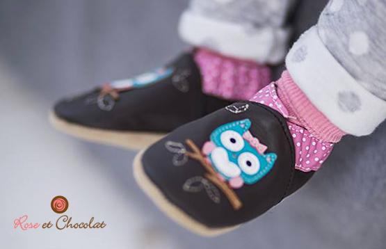 Rose et  Chocolat. Обувь из натуральной кожи для самых маленьких