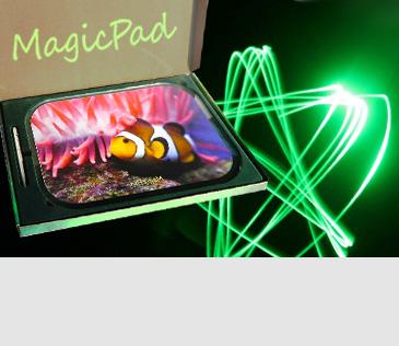 Magic Pad. Планшеты для рисования световым лучом