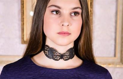 Alena Alenkina. Бижутерия из натуральной кожи