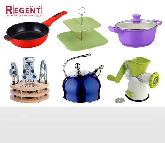 Regent Inox. Кухонные принадлежности и столовые приборы