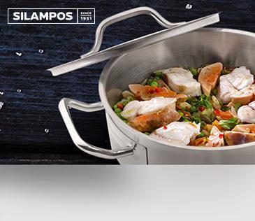 Silampos. Посуда из нержавеющей стали