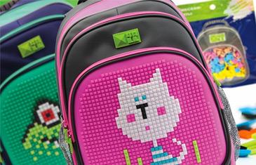 4ALL. Рюкзаки с силиконовыми панелями для пиксельных мозаик