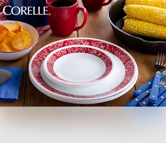 Corelle. Ударопрочная стеклянная посуда из США