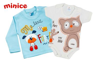 Minice. Одежда для детей от 0 до 6 лет