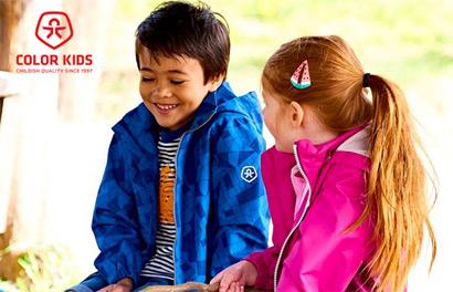 Color Kids. Мембранная верхняя одежда для детей от 1 года до 12 лет