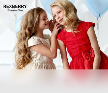 Rexberry. Нарядные платья для девочек