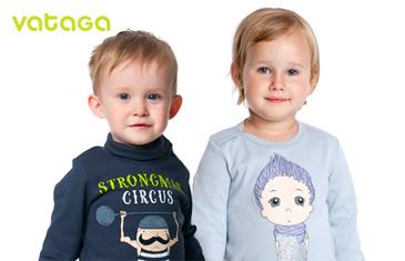 Vataga. Трикотажная одежда для детей от 1 года до 8 лет