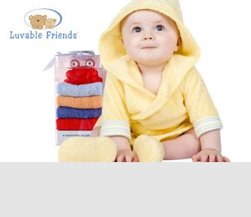 Luvable Friends. Детский текстиль (купание, кормление, сон)