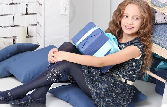 Larmini. Ободки и праздничные колготки для девочек