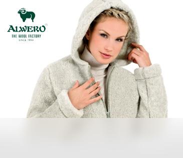 Alwero. Куртки из 100% овечьей шерсти