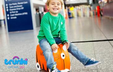 Trunki. Детские чемоданы и аксессуары для путешествий