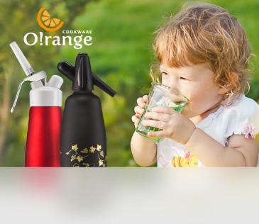 O!range. Сифоны и кремеры — для натуральных домашних напиков
