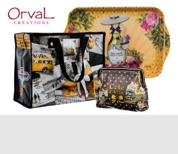 Orval Créations. Французская марка сувениров и товаров для дома