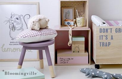Bloomingville. Скандинавский декор для детской комнаты