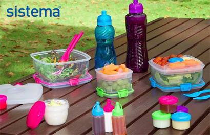 Sistema. Пластиковая посуда и пищевые контейнеры