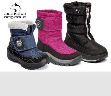Alaska Originale. Мембранная зимняя обувь