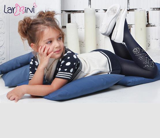 Larmini. Колготки и носки для девочек. Школьная коллекция