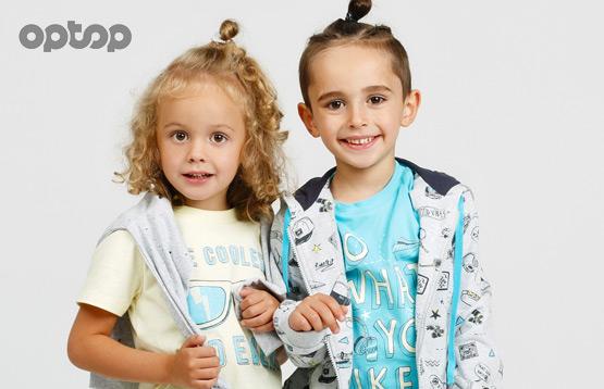 Optop. Детская трикотажная одежда