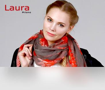 Laura Milano. Платки и палантины из Италии