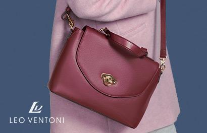 Leo Ventoni. Итальянские сумки из натуральной кожи