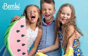 Bembi. Лето 2017 для детей от 0 до 10 лет