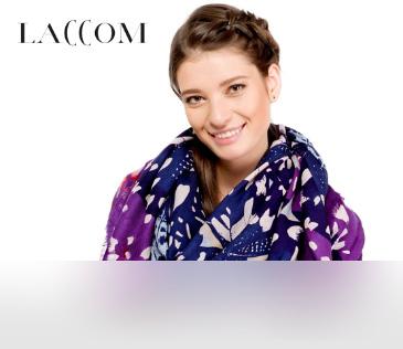 Laccom. Более 200 моделей палантинов и шарфов из Италии