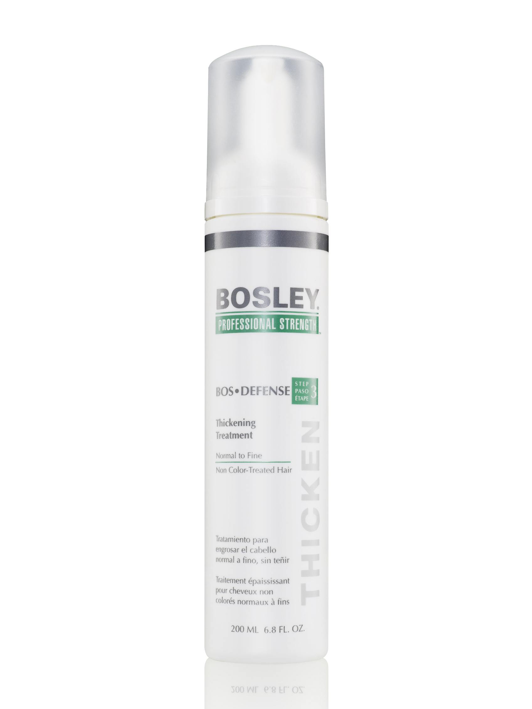 Уход, увеличивающий густоту истонченных неокрашенных волос - bosley / 200 мл - истончение и выпадение - решение проблем - уход и.
