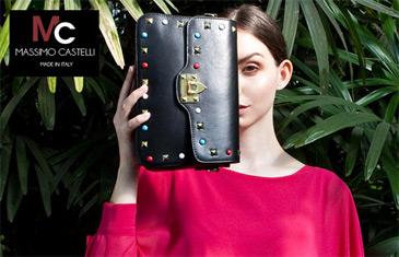 Massimo Castelli. Итальянские сумки из натуральной кожи