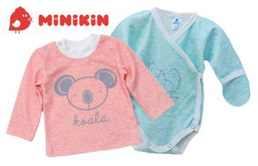 Minikin. Трикотажная одежда для малышей от 0 до 5 лет