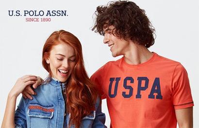 U.S. Polo Assn.  Распродажа одежды для мужчин и женщин