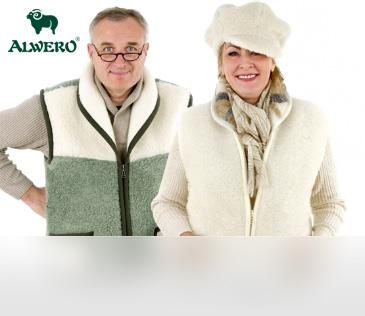 Alwero. Жилеты из 100% овечьей шерсти