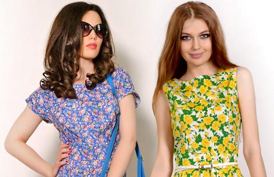 Распродажа платьев от компании Ласкани