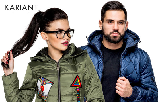 Kariant. Куртки для мужчин и женщин