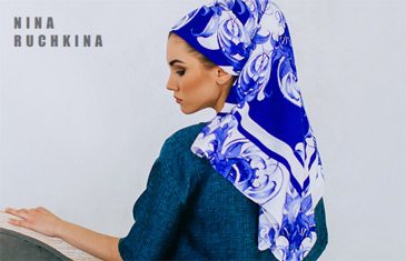 Русские в моде. Авторские платки от модного дома Nina Ruchkina
