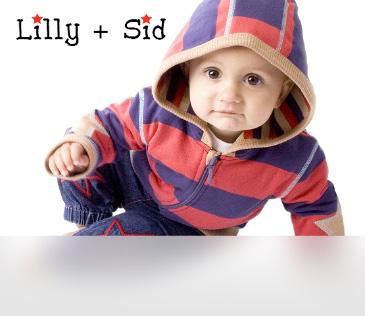 Lilly + Sid. Одежда из Англии для новорожденных