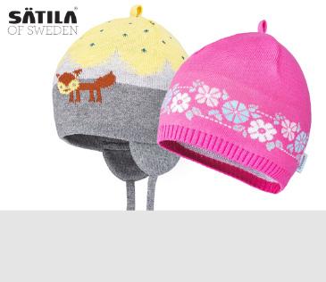 Satila. Детские шапки