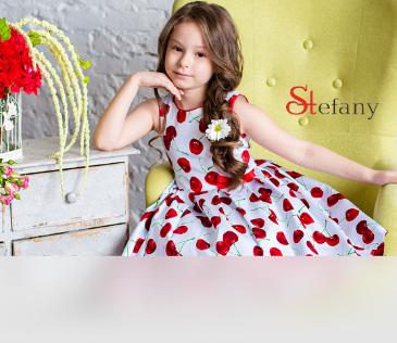 Stefany. Нарядные платья и аксессуары для девочек