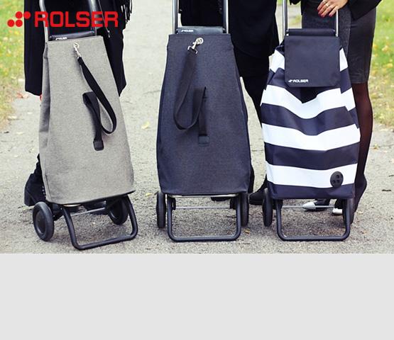 Rolser. Эргономичные сумки на колесах